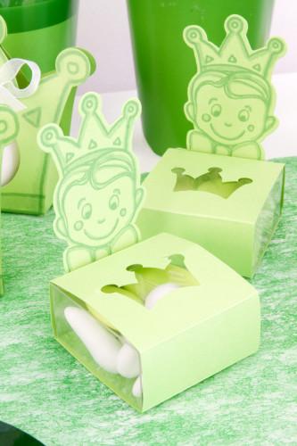 6 boîtes carton Prince Vert-1
