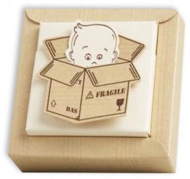 2 boîtes + vignettes carton Bébé Bien Arrivé