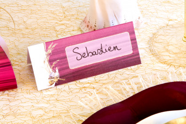 10 cartes de table carton Communion Bordeaux-1