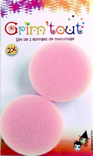 2 éponges maquillage 1,5 cm d'épaisseur