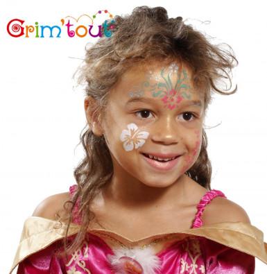 Pochoir réutilisable pour maquillage Fleurs Grim Tout-1