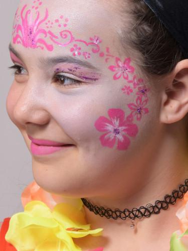 Pochoir réutilisable pour maquillage Fleurs Grim Tout-2
