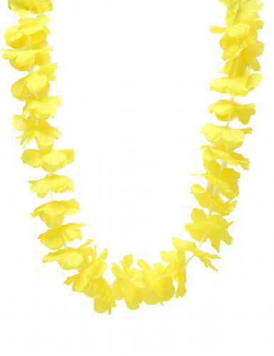 Collier hawaï jaune