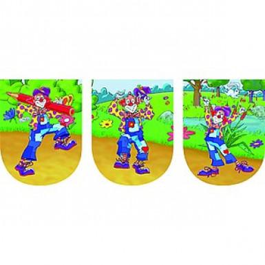 Guirlande fanions Clown