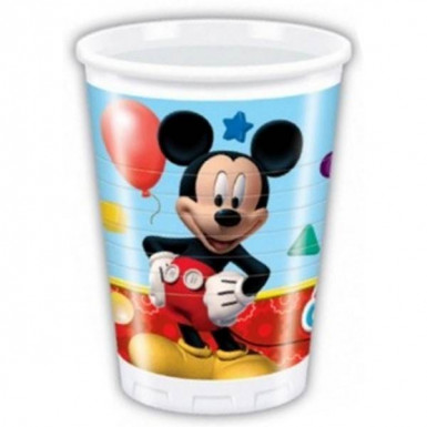 8 gobelets plastique Mickey Mouse ™