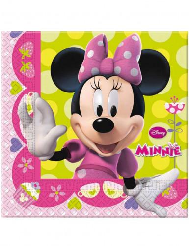 20 Serviettes en papier Minnie Bow-Tique™ 33 x 33 cm