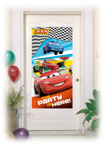 Décoration de porte Cars RSN™