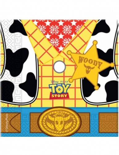 20 Serviettes en papier Toy Story Star Power ™ 33 x 33 cm