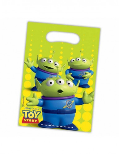 6 sacs plastique Toy Story Star Power ™