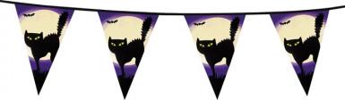 Guirlande chat noir