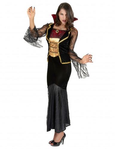 Déguisement comtesse vampire femme Halloween-1