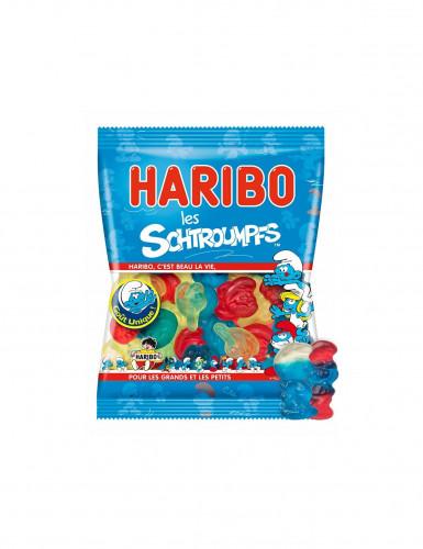 Mini sachet  bonbons schtroumpf Haribo-1