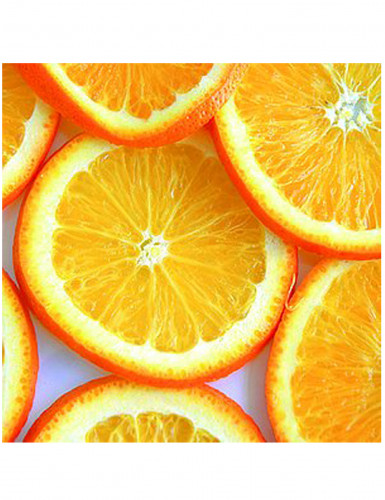 20 Serviettes en papier Oranges 33 x 33 cm