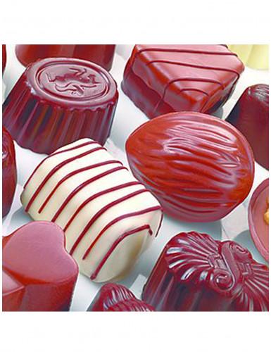 20 Serviettes en papier Petits chocolats 33 x 33 cm