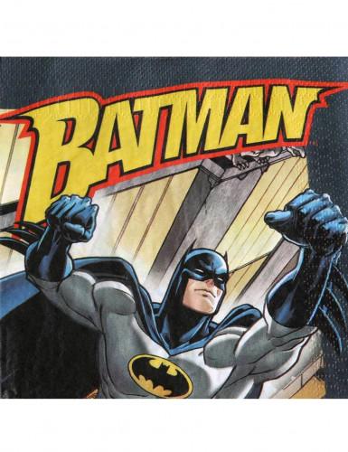20 Serviettes en papier Batman 33 x 33 cm