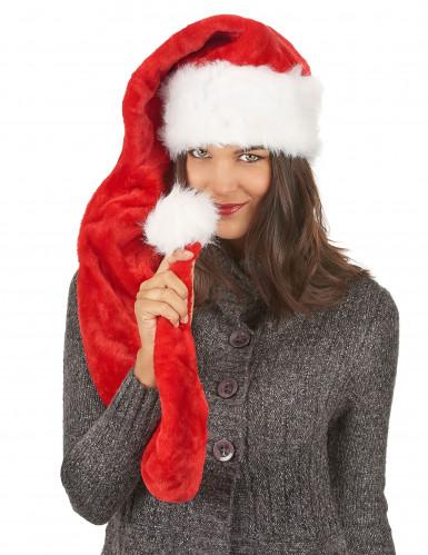 Bonnet de Noël peluche 140 cm-2