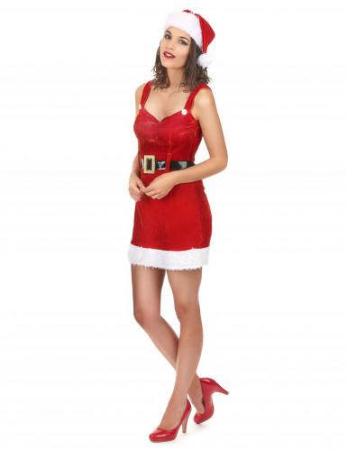 Déguisement Mère Noël sexy avec sa ceinture-1