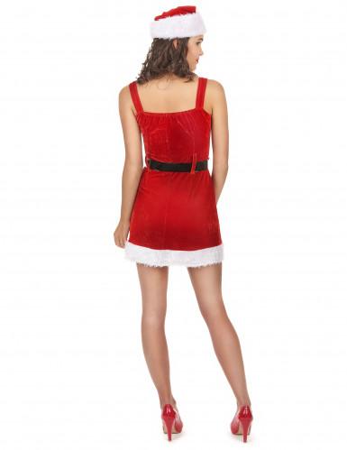 Déguisement Mère Noël sexy avec sa ceinture-2