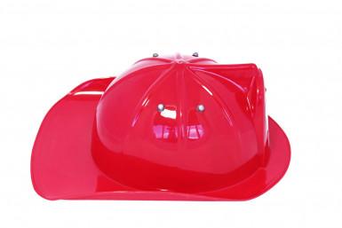 Casque pompier rouge enfant-1