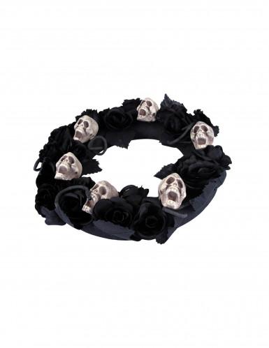 Couronne deuil 38 cm Halloween