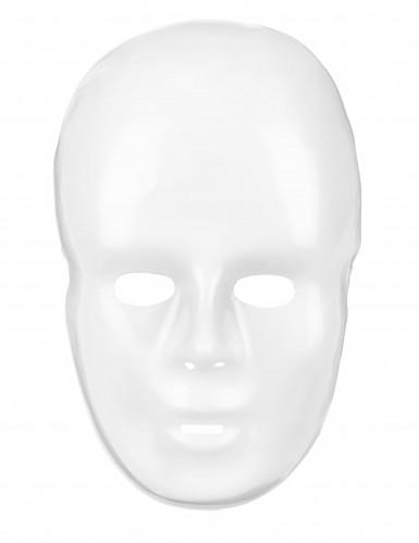 Masque blanc adulte