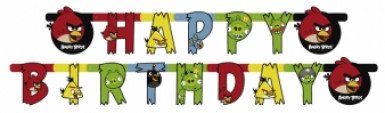 Guirlande happy birthday Angry Birds™
