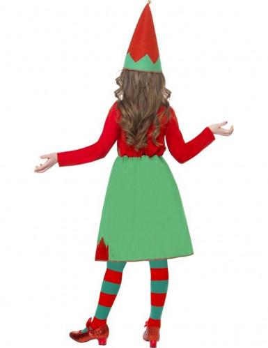 Déguisement elfe fille Noël-2