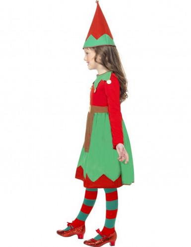 Déguisement elfe fille Noël-1