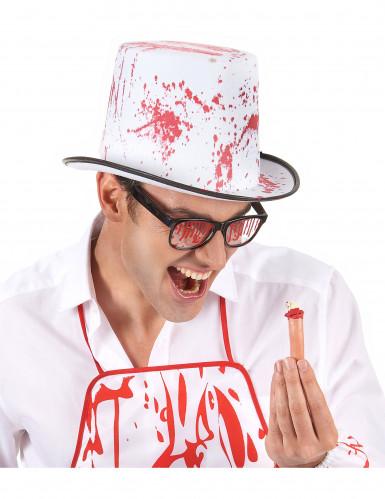 Lunettes tachées de sang adulte-1
