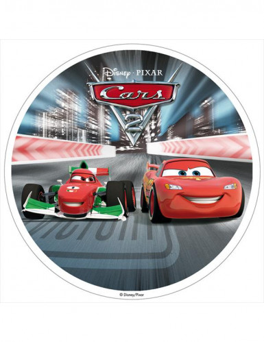 Disque azyme 20 cm Cars 2™