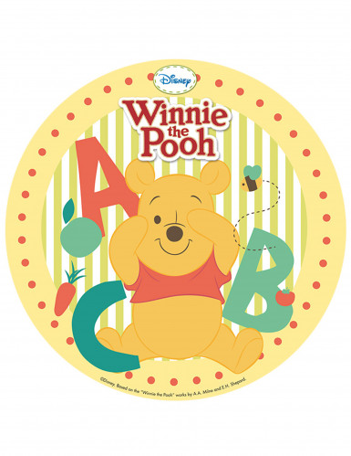 Disque azyme 20 cm Winnie l'Ourson™