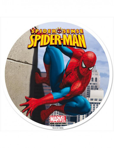 Disque azyme 20 cm Spiderman™