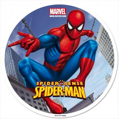 Disque azyme 20 cm Spiderman™