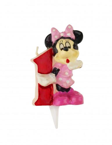 Bougie chiffre 1 Minnie™