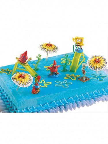 Kit de décorations gâteaux Bob l'éponge™-1