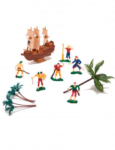 Kit de décorations gâteaux pirate