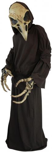 Décoration squelette vautour Halloween