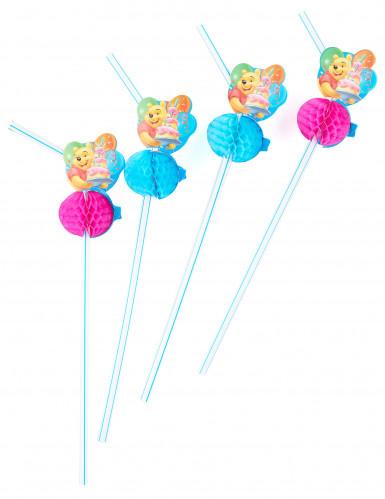 6 Pailles médaillon Winnie birthday™