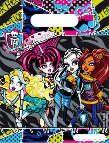 6 Sachets cadeaux Monster High™