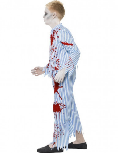 Déguisement zombie pyjama garçon Halloween-1