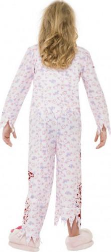 Déguisement zombie pyjama fille Halloween-2