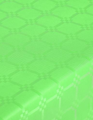 Nappe en rouleau papier damassé vert pistache-1