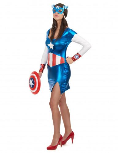 Déguisement Captain Girl sexy femme-1