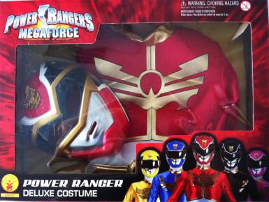 Déguisement rembourré Power Rangers Megaforce™ rouge garçon-1