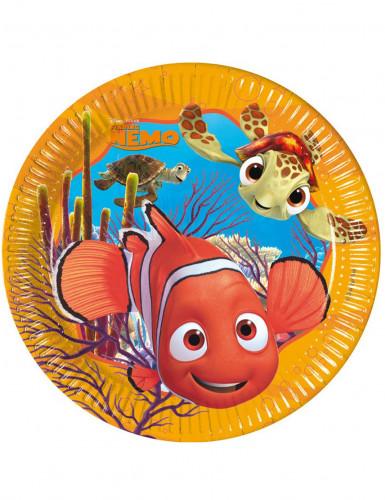8 Assiettes en carton Nemo™ 23 cm