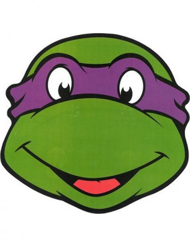 Masque en carton Donatello Tortues Ninja™