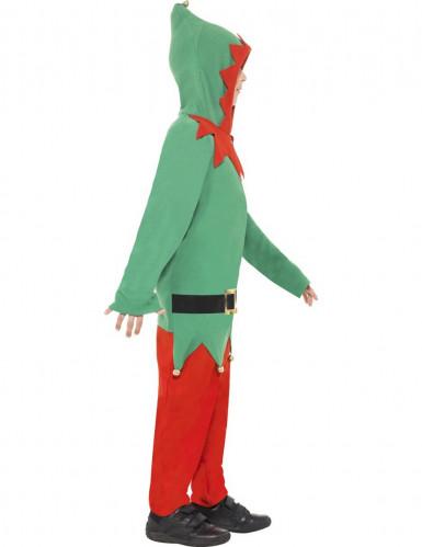 Déguisement elfe garçon Noël-1
