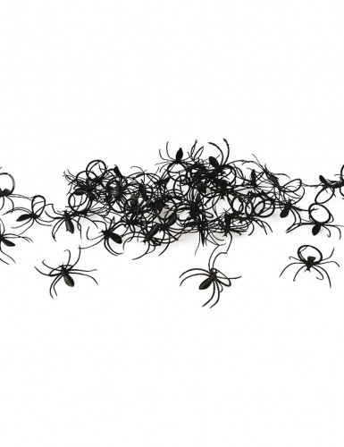 Lot 50 bagues araignées Halloween