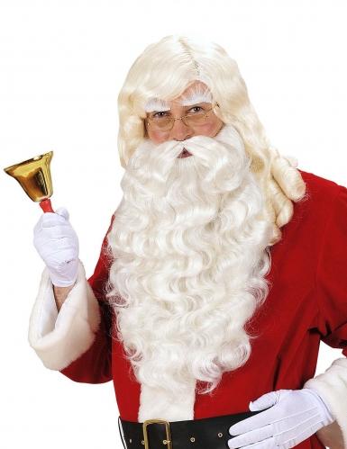 Barbe et Perruque de Père Noël luxe