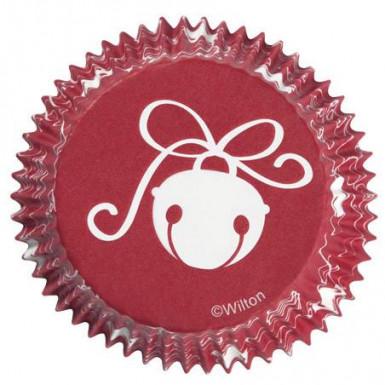 75 Moules à cupcake grelots noël